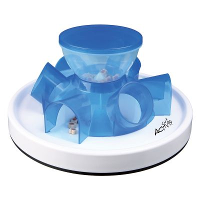 Gamelle et jeu Trixie Cat Activity Tunnel Feeder pour chat