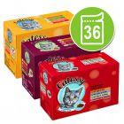 Gemengd pakket: Catessy hapjes in Gelei en in Saus Kattenvoer