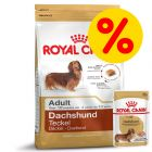Gemengd pakket: Royal Canin Hondenvoer - Teckel Adult