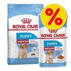 Gemengd pakket: Royal Canin Medium Droog- & Natvoer