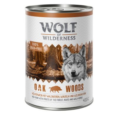Gemengd Pakket Wolf of Wilderness Adult