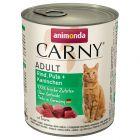 Gemengd probeerpakket Animonda Carny Adult 6 x 800 g