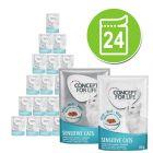 Gemengd Voordeelpakket Concept for Life Gelei & Saus 24 x 85 gKattenvoer