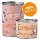 Gemischtes Paket: Greenwoods Nassfutter für Frettchen