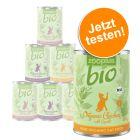 Gemischtes Probierpaket: zooplus Bio 6 x 400 g