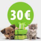 Geschenkgutschein Wert 30,- €