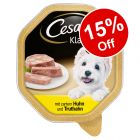 100g/150g Cesar Wet Dog Food - 15% Off!*