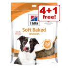170g/220g Hill's Dog Snacks - 4 + 1 Free!*