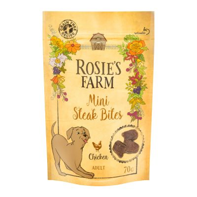 50g/70g Rosie's Farm Dog Treats - 2 + 1 Free!*