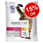 650g/750g/1.4kg/2.8kg/7kg Perfect Fit Dry Cat Food - 15% Off!*