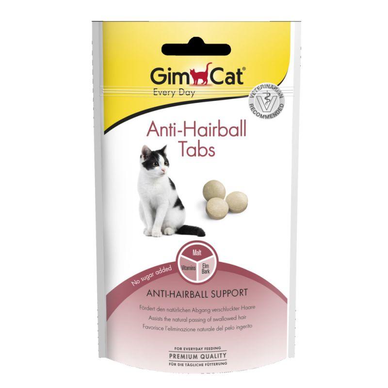 GimCat Anti-Hairball comprimidos de malta para gatos
