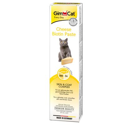 GimCat Cheese Biotin Paste