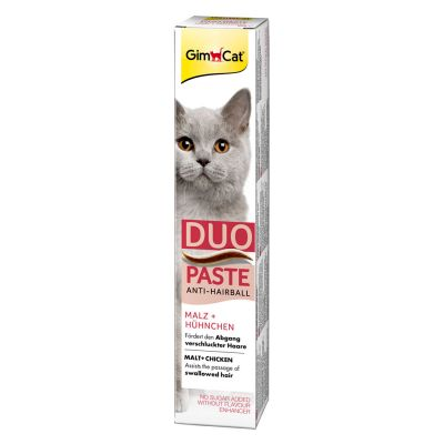 GimCat Duo Paste Anti-Hairball Malt & Chicken
