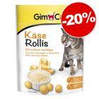 Gimcat Friandises 140 g pour chat : 20 % de remise !