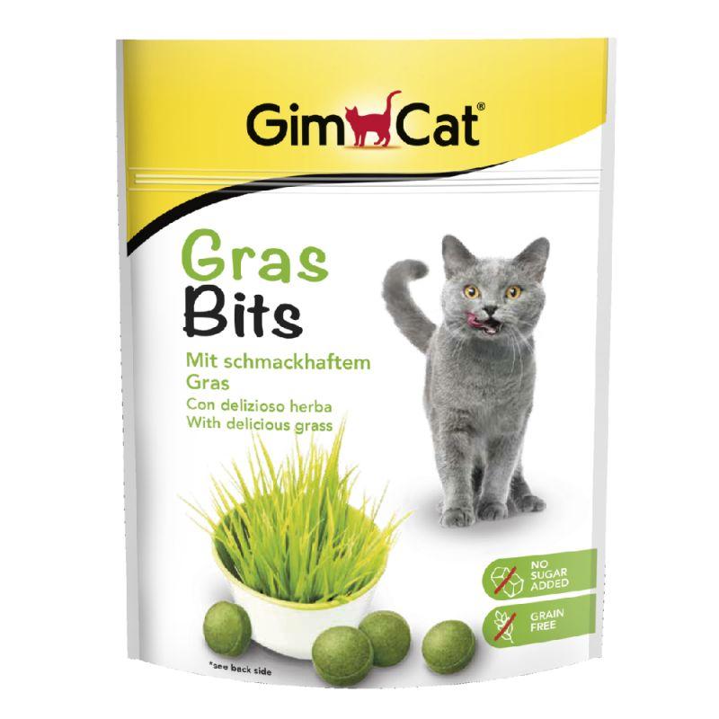 GimCat Gras Bits comprimidos de hierba para gatos