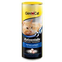 GimCat Kattentabs met Vis & Biotine