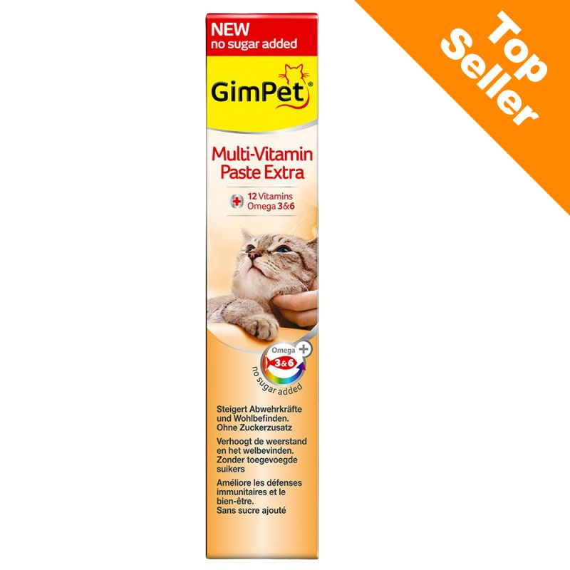 GimCat Multi-Vitamin Extra Kattepasta