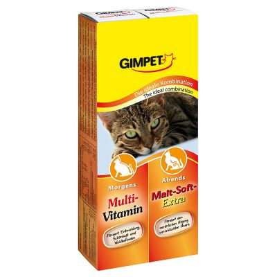 GimCat Multivitamin + Malt Dual Pack