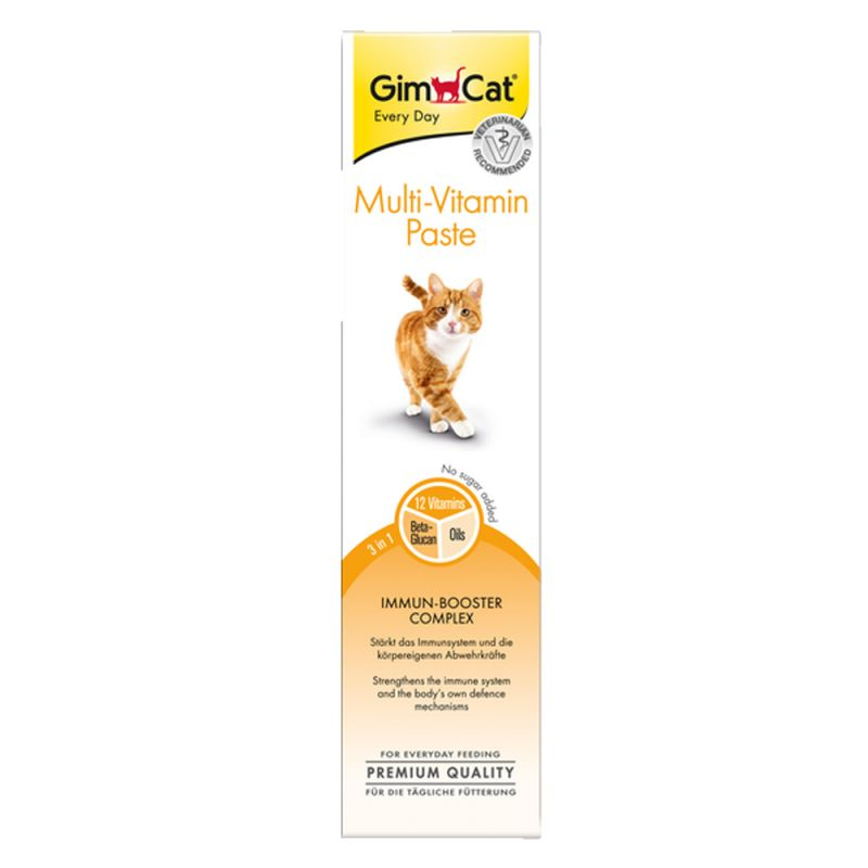 GimCat Multi-Vitamina en pasta para gatos