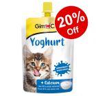 GimCat Pudding/Yoghurt Cat Treats - 20% Off!*