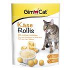 GimCat Rollis snacks de queijo para gatos