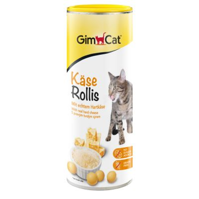 GimCat Rollis snacks de queso para gatos