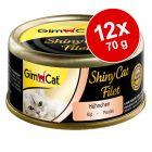 GimCat ShinyCat Filet 12 x 70 g