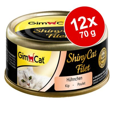 GimCat ShinyCat Filet 12 x 70 g