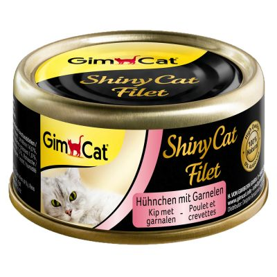 GimCat ShinyCat Filetto 12 x 70 g