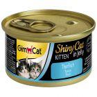 GimCat ShinyCat Kitten en gelée 6 x 70 g pour chat