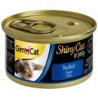 GimCat ShinyCat în gelatină 6 x 70 g
