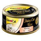 GimCat ShinyCat, w bulionie 6 x 70 g