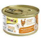 GimCat Superfood ShinyCat Duo 6 x 70 g