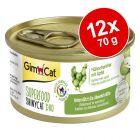 GimCat Superfood ShinyCat Duo 12 x 70 g