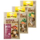 GimDog Superfood Meat Snack Mix 3-pack