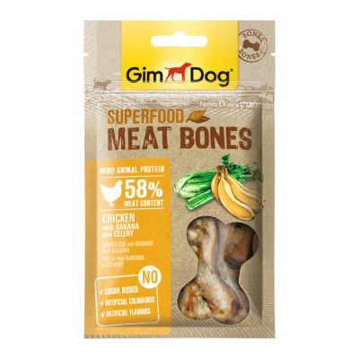 GimDog Superfood Meat Mix 3 Snack