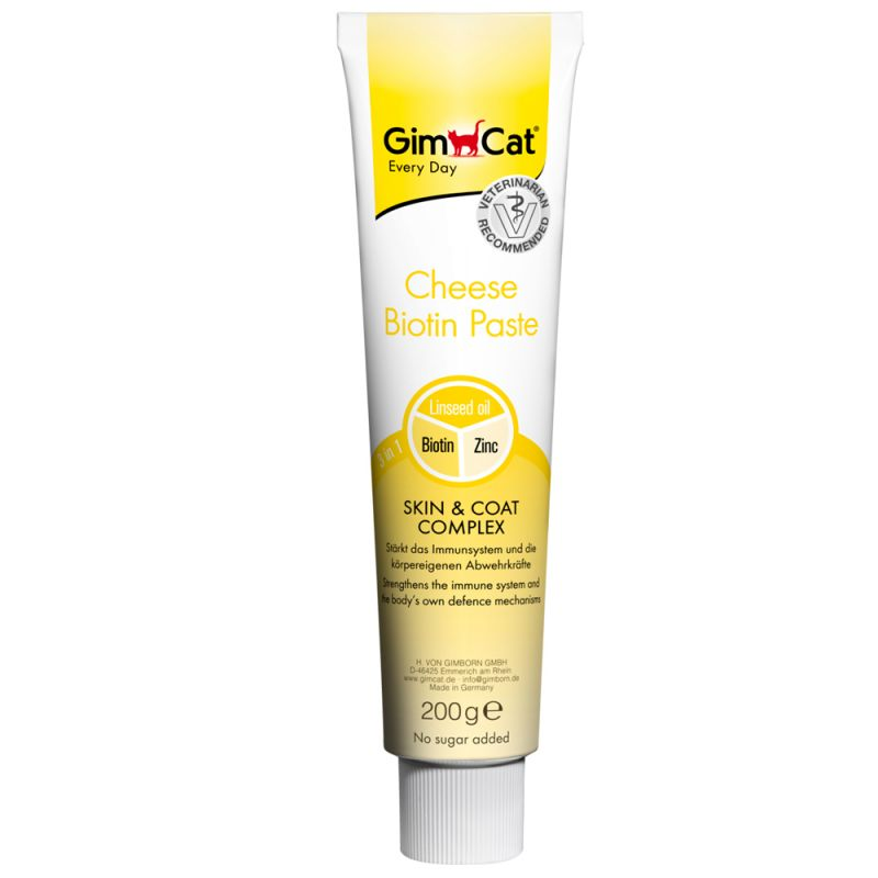 Gimpet Cheese Paste with Biotin