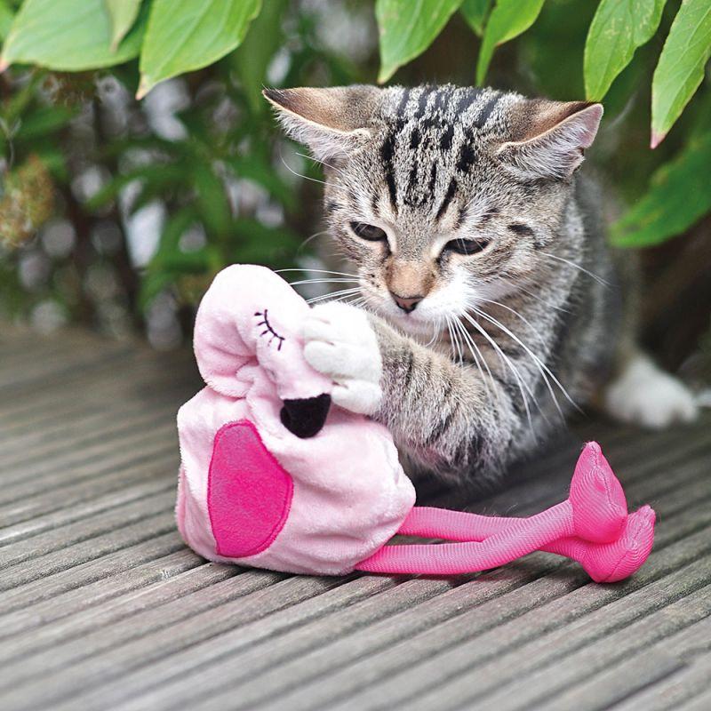 Gioco per gatti Aumüller Flamingo Pinky