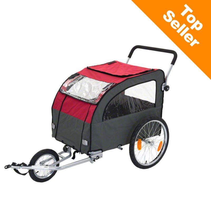 Globetrotter cykelvagn för hundar, inkl. jogging-set