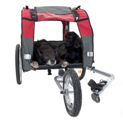 Globetrotter Dog Bike Trailer with Jogging Kit