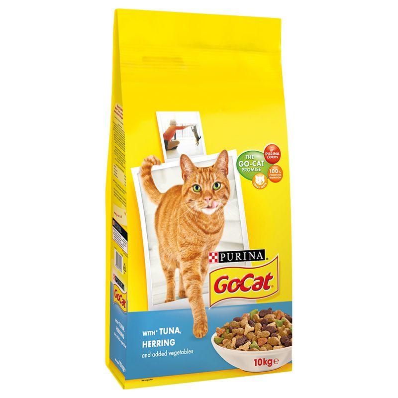Go-Cat Adult Tuna, Herring & Vegetables