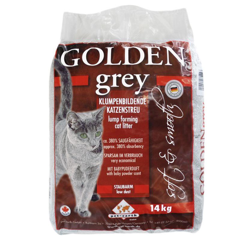 Golden Grey arena aglomerante