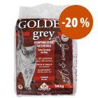 Golden Grey arena aglomerante 14 kg  ¡a precio especial!