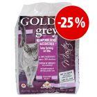 Golden Grey 14 kg areia aglomerante com grande desconto!