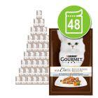 Gourmet A la Carte em saquetas 48 x 85 g - Pack económico