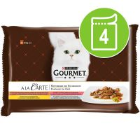 Gourmet A La Carte Mixed Pack 4 x 85g