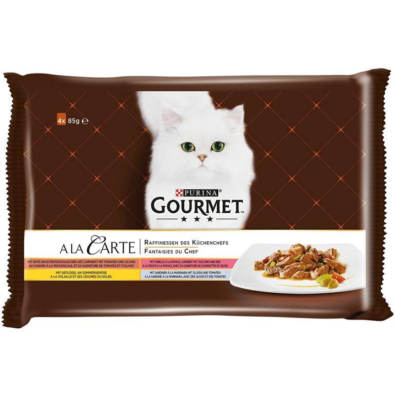 Gourmet A La Carte -monipakkaus 4 x 85 g