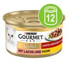 Gourmet Gold Bitar i sås 12 x 85 g