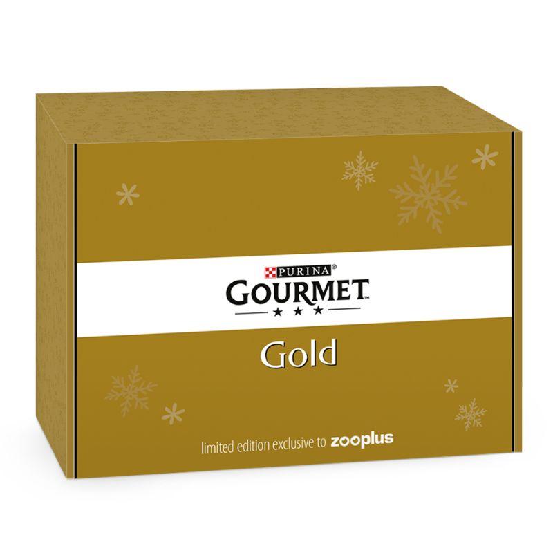 Gourmet Gold caja regalo para gatos - Edición de invierno