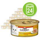 Gourmet Gold Cœur fondant 24 x 85 g pour chat